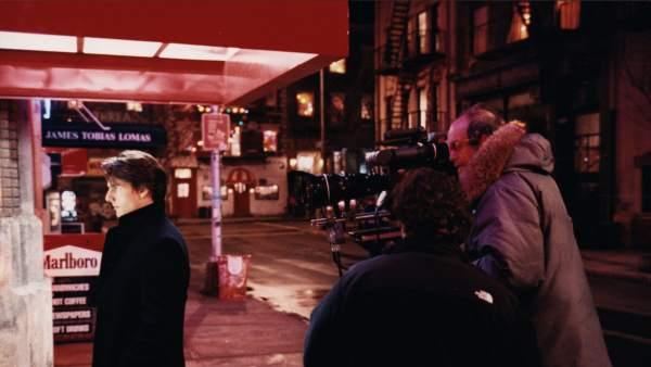 Stanley Kubrick y Tom Cruise en el rodaje de 'Eyes Wide Shut', 1999