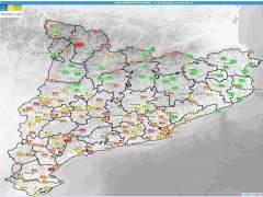 Protección Civil activa la alerta por fuertes vientos en Barcelona y Tarragona