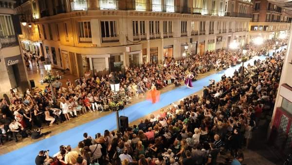 Pasarela Larios Málaga moda alta costura