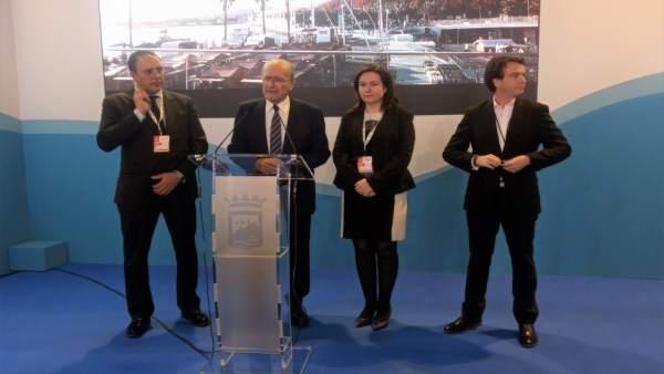 El alcalde de Málaga, Francisco de la Torre, hace balance en Fitur