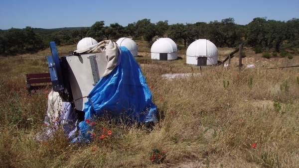 Observatorio de Almadén de la Plata.