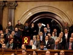 Constitución del Parlamento catalán | Directo: Roger Torrent nuevo presidente del Parlament