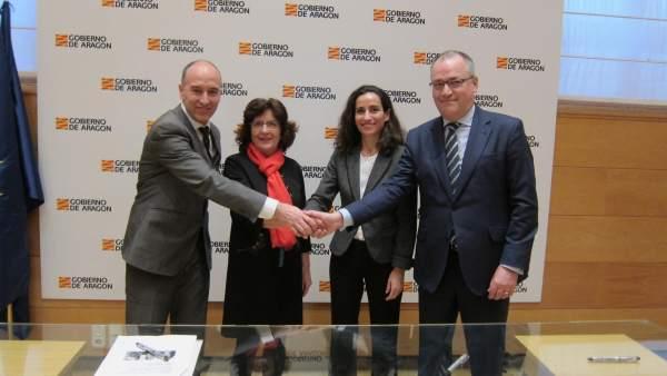 Colaboración entre Gobierno de Aragón, Endesa y CIRCE