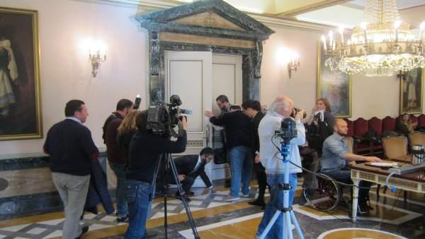 Pleno municipal de Oviedo del 2 de mayo.
