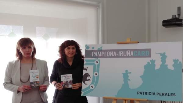 Patricia Perales y María Bezunartea.