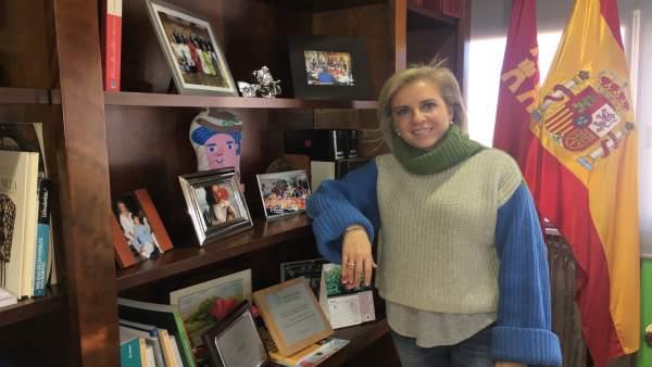 La consejera de Educación, Juventud y Deportes, Adela Martínez-Cachá