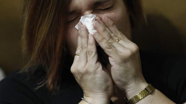 La taxa de la grip torna a pujar i arriba als 227,8 casos cada 100.000 habitants
