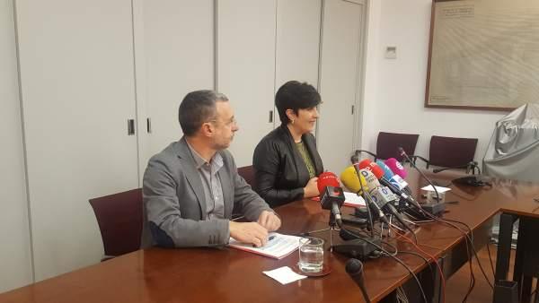 Miguel Laparra y María Solana.