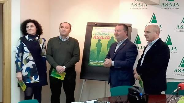 Asaja presenta su candidatura a las elecciones agrarias