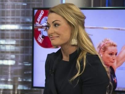 Lydia Valentín en 'El Hormiguero'