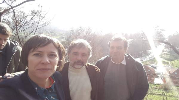 Ana Pontón, este miércoles en As Neves