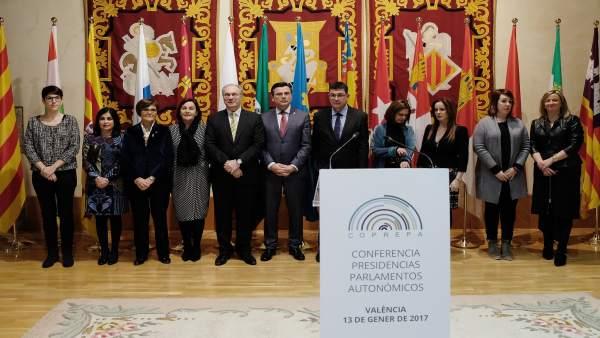 Nota De Prensa / El Parlamento De Canarias Acoge La Reunión Anual De La Conferen