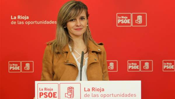 Sara Orradre, diputada PSOE