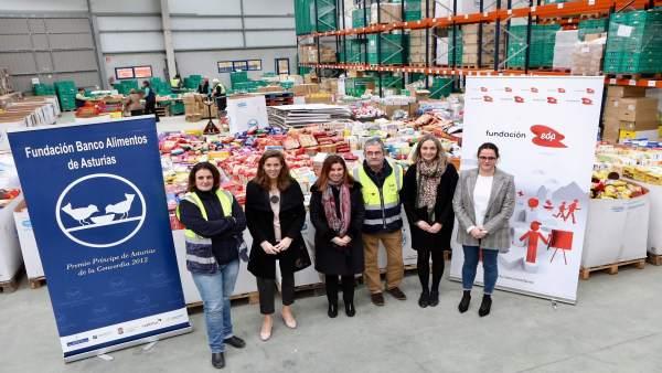 Nueva iluminación Banco de Alimentos, Fundación EDP