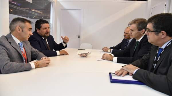 Ndp Moliner Se Reúne Con El Presidente De Renfe Para Coordinar Acciones Que Mult