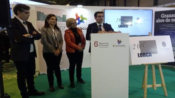 El alcalde de Granada, en Fitur 2018