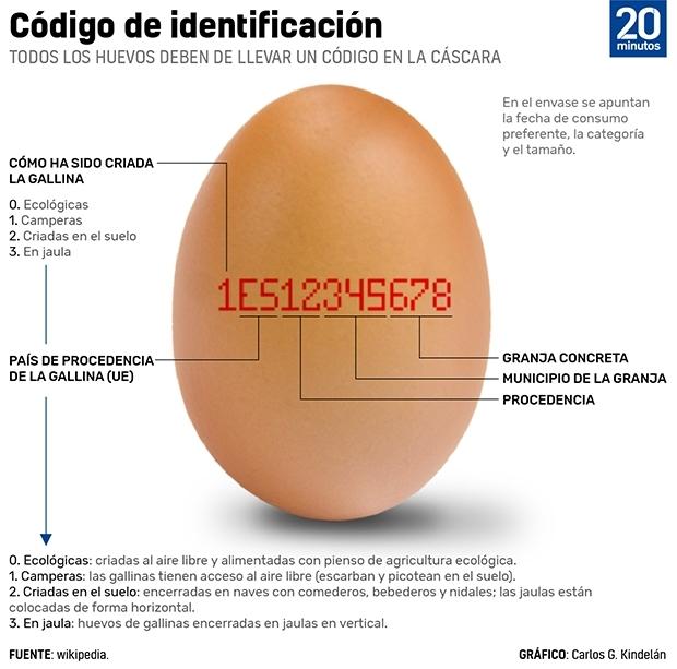 Gráfico sobre la identificación de los huevos