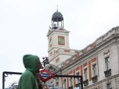 Reloj de la Puerta del Sol de Madrid, campanadas, Metro de Sol