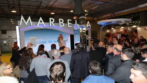 Marbella ángeles muñoz fitur 2018 expositor