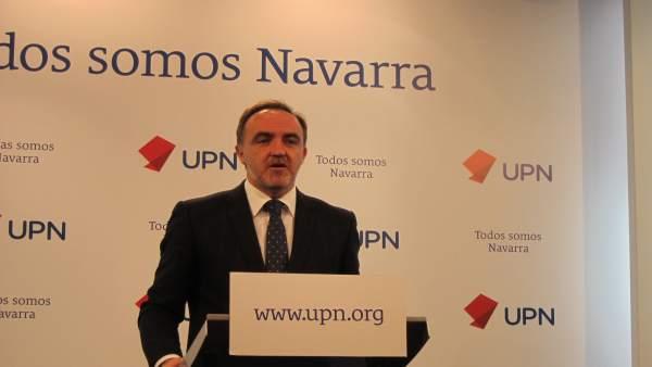 Javier Esparza, presidente de UPN