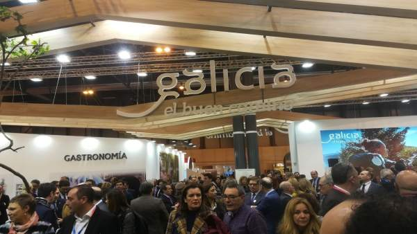 Expositor de Galicia en Fitur