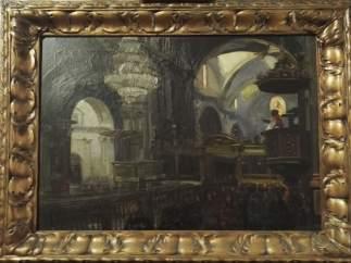 El lienzo 'La catedral en 1900'