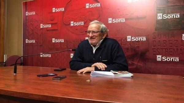 Soria.- El concejal de Cultura Jesús Bárez.