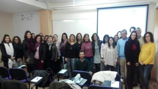 Curso de intervención con alumnado de aula específica.