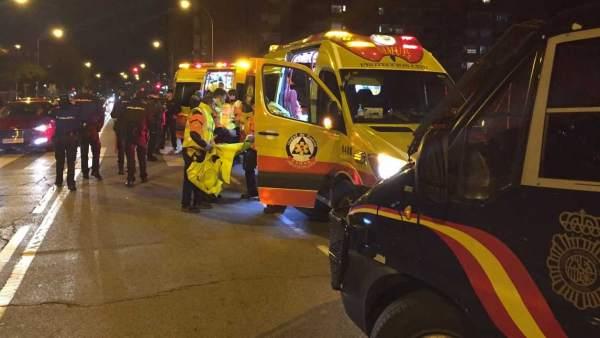 Herido grave un ultra del Frente Atlético tras ser apuñalado