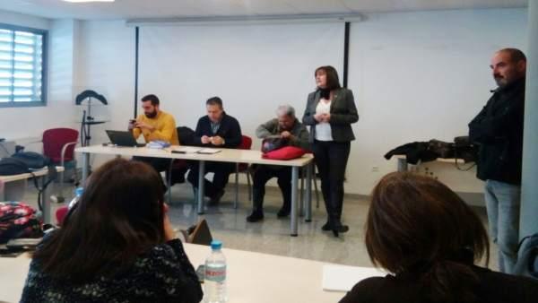 CCOO se reúne con las delegadas sindicales de Educación Especial