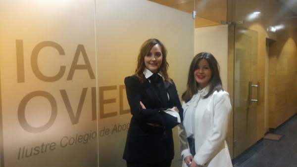 Gloria Taboada y  Mara Monreal