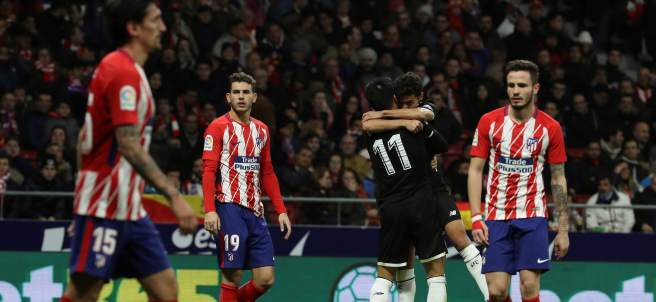 Gol del Sevilla al Atlético