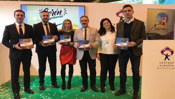 Las seis experiencias turísticas de Serón aterrizan en Fitur 2018.