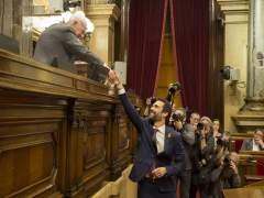 Torrent deja en el aire reunirse con el Rey ycontempla visitar a Puigdemont en Bélgica