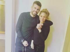 Shakira y Piqué: primer posado del 2018
