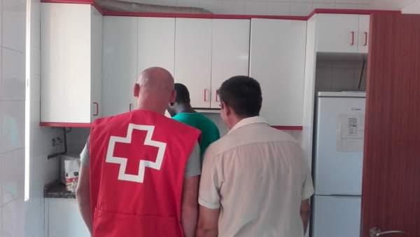 Cruz Roja Málaga asilo refugiados