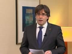 Torrent anuncia a Puigdemont como único candidato a president y propone una reunión con Rajoy