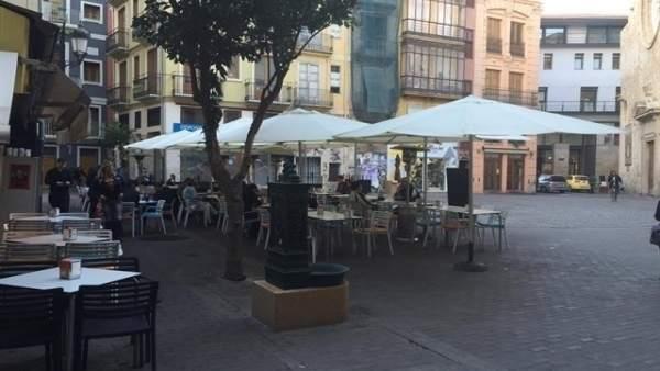 Zona de bares del ciutat Vella, Valencia