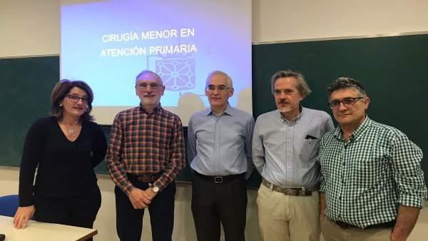 Mercedes Artieda, Fernando Cortés, Javier Ágreda, Ángel Parra E Iñaki Abad.