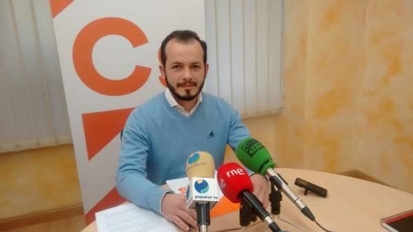 Pablo Baena, portavoz autonómico Cs La Rioja