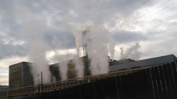 Planta de Arcelor en Avilés, ArcelorMittal, contaminación