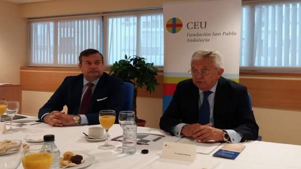 Francisco Herrero participa en los Diálogos sobre Sevilla de San Pablo CEU