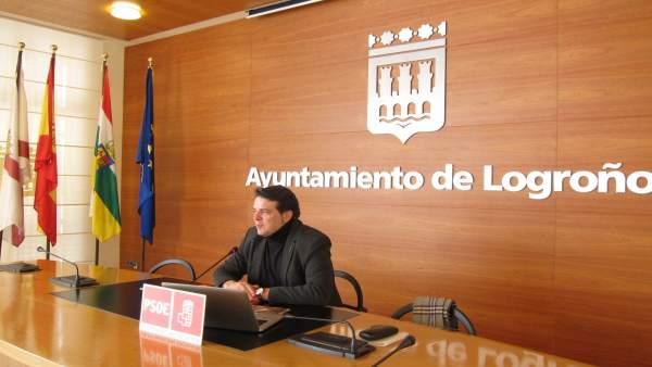 Kilian Cruz, Concejal PSOE Logroño
