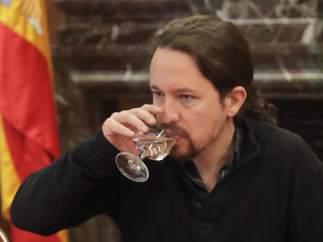 Iglesias critica el alto coste económico del dispositivo policial del 1-O en Cataluña
