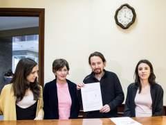 Podemos exige a Rajoy un debate sobre el estado de la nación