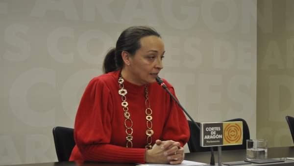 La portavoz de Sanidad del PP, Carmen Susín.