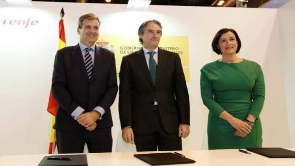 Renovación del acuerdo entre Renfe y el Ayuntamiento de Santander