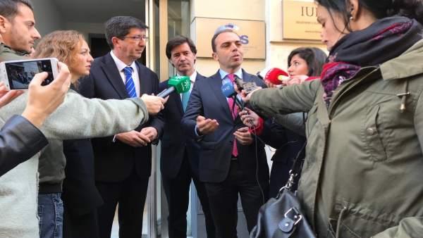 Juan Millán atiende hoy a los medios