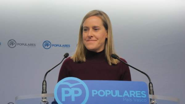 Amaya Fernández, secretaria general del PP vasco
