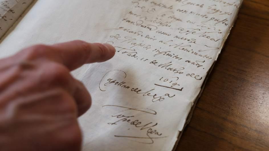 La Biblioteca Nacional adquiere 117 cartas de Lope de Vega